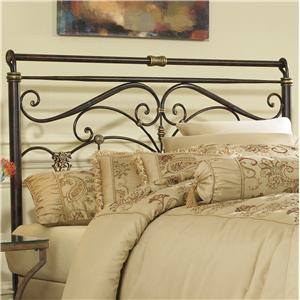 Fashion Bed Group Metal Beds Queen Lucinda Headboard