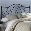 Fashion Bed Group Metal Beds Queen Deland Headboard  - Item Number: B12A15