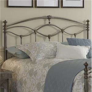 Fashion Bed Group Metal Beds Full Genoa Headboard