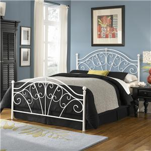 Fashion Bed Group Metal Beds Queen Wingate Bed with Frame
