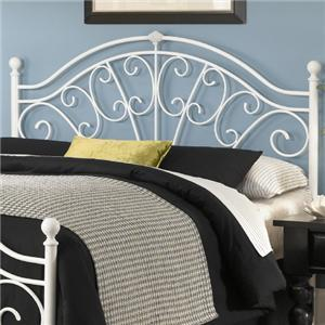 Fashion Bed Group Metal Beds King Wingate Headboard