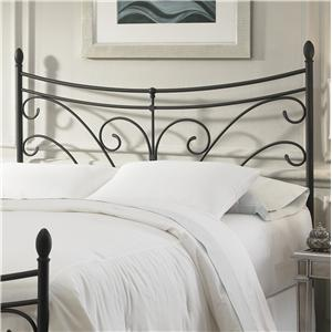 Fashion Bed Group Metal Beds Queen Bergen Headboard