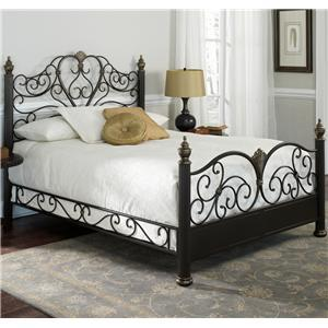 Fashion Bed Group Metal Beds Queen Elegance Headboard