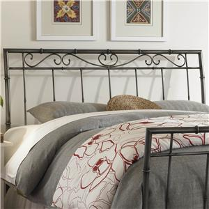 Fashion Bed Group Metal Beds Queen Ellington Headboard