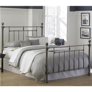 Fashion Bed Group Metal Beds King Heritage Bed without Frame