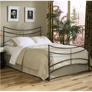 Fashion Bed Group Metal Beds Queen Simplicity Bed w/ Frame