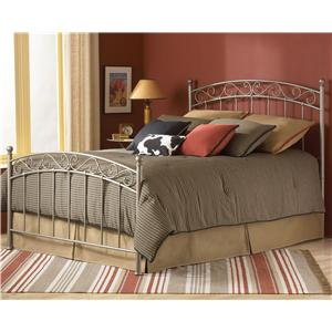 Fashion Bed Group Metal Beds Queen Ellsworth Metal Bed without Frame