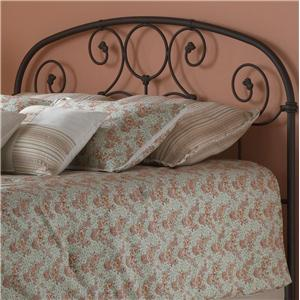 Fashion Bed Group Metal Beds Queen Grafton Headboard