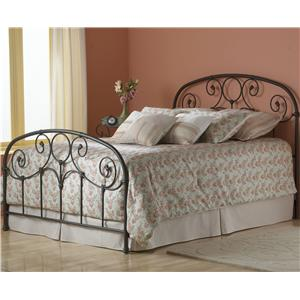Fashion Bed Group Metal Beds Queen Grafton Metal Bed with Frame
