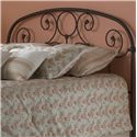 Fashion Bed Group Metal Beds King/California King Grafton Headboard  - Headboard Shown May Not Represent Size Indicated