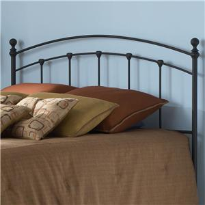 Fashion Bed Group Metal Beds Queen Sanford Headboard