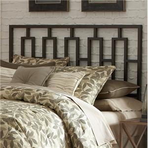 Fashion Bed Group Metal Beds Queen Miami Duo Panel