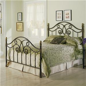 Fashion Bed Group Metal Beds Queen Dynasty Metal Bed