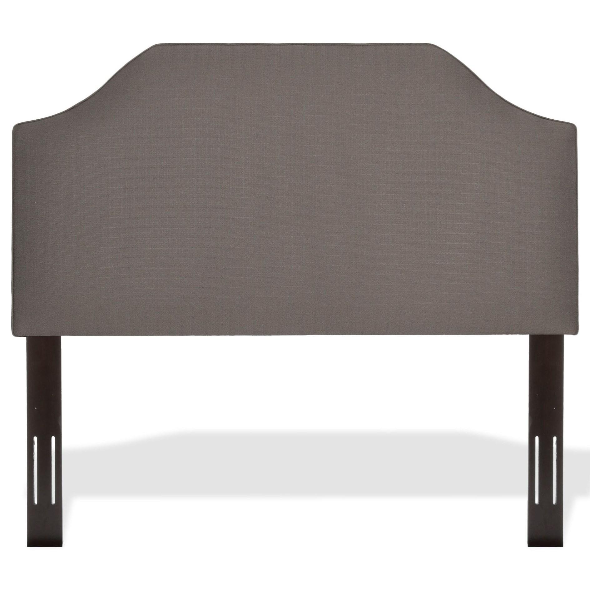twin bordeaux upholstered headboard by fashion bed group  wolf  - twin bordeaux upholstered headboard