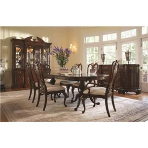 formal dining room group. Interior Design Ideas. Home Design Ideas