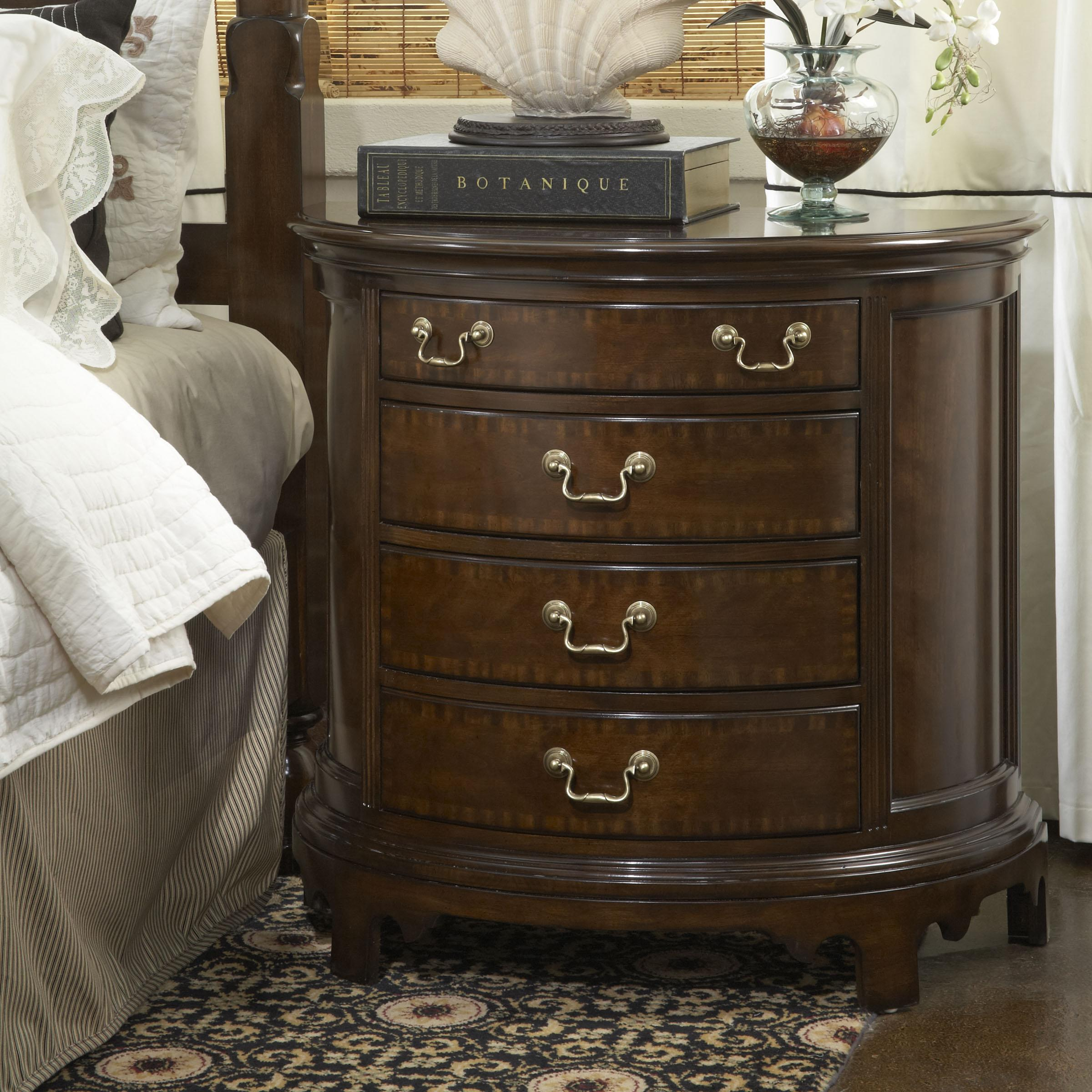 Norfolk Demilune Chest With Four Drawers By Fine Furniture Design Wolf And Gardiner Wolf Furniture