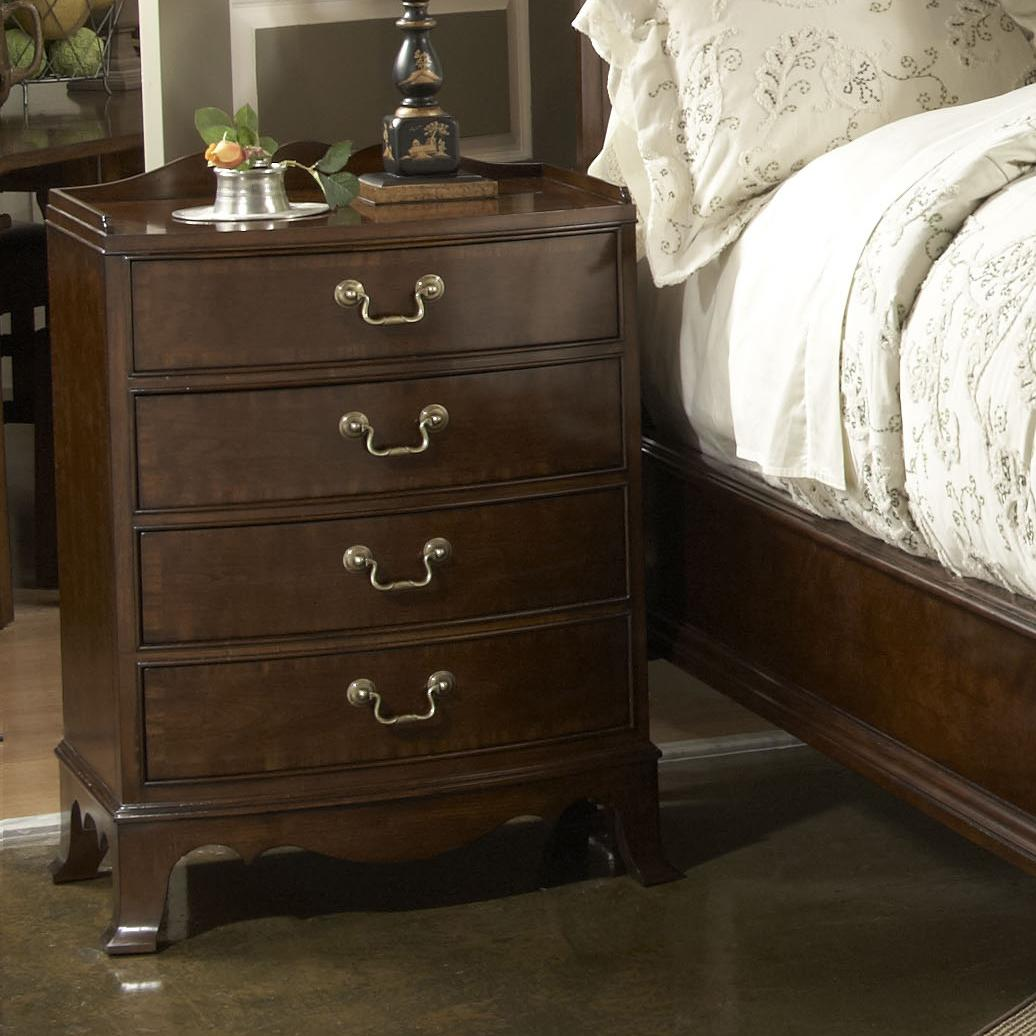 Richmond Bedside Table With Four Drawers By Fine Furniture Design Wolf And Gardiner Wolf Furniture