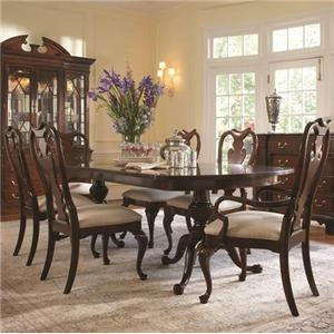 Belfort Signature Belmont 919 7 Piece Table and Chair Set