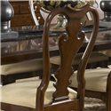 Belfort Signature Belmont 919 Brandywine Splat Back Side Chair - Beautiful Splat Back