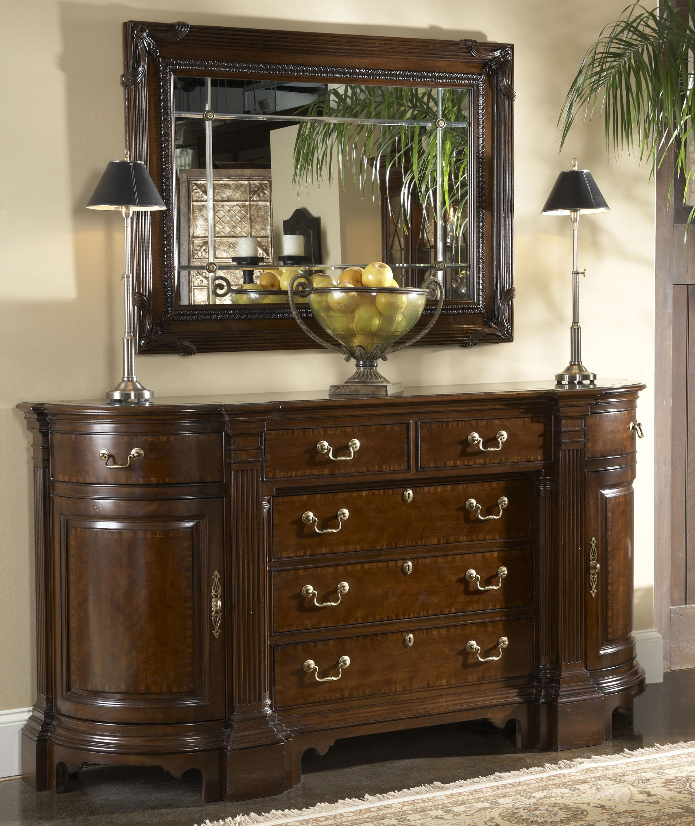 Kennett Square Credenza With Black Granite Top Insert By Fine Furniture Design Wolf And
