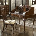 Belfort Signature Belmont 919 New Bedford Ladies' Desk with Tooled Leather Top