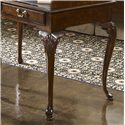 Belfort Signature Belmont 919 New Bedford Ladies' Desk with Tooled Leather Top - Stands on Four Beautiful Cabriole Legs