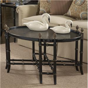 Belfort Signature Belmont 919 New London Chinoiserie Cocktail Table