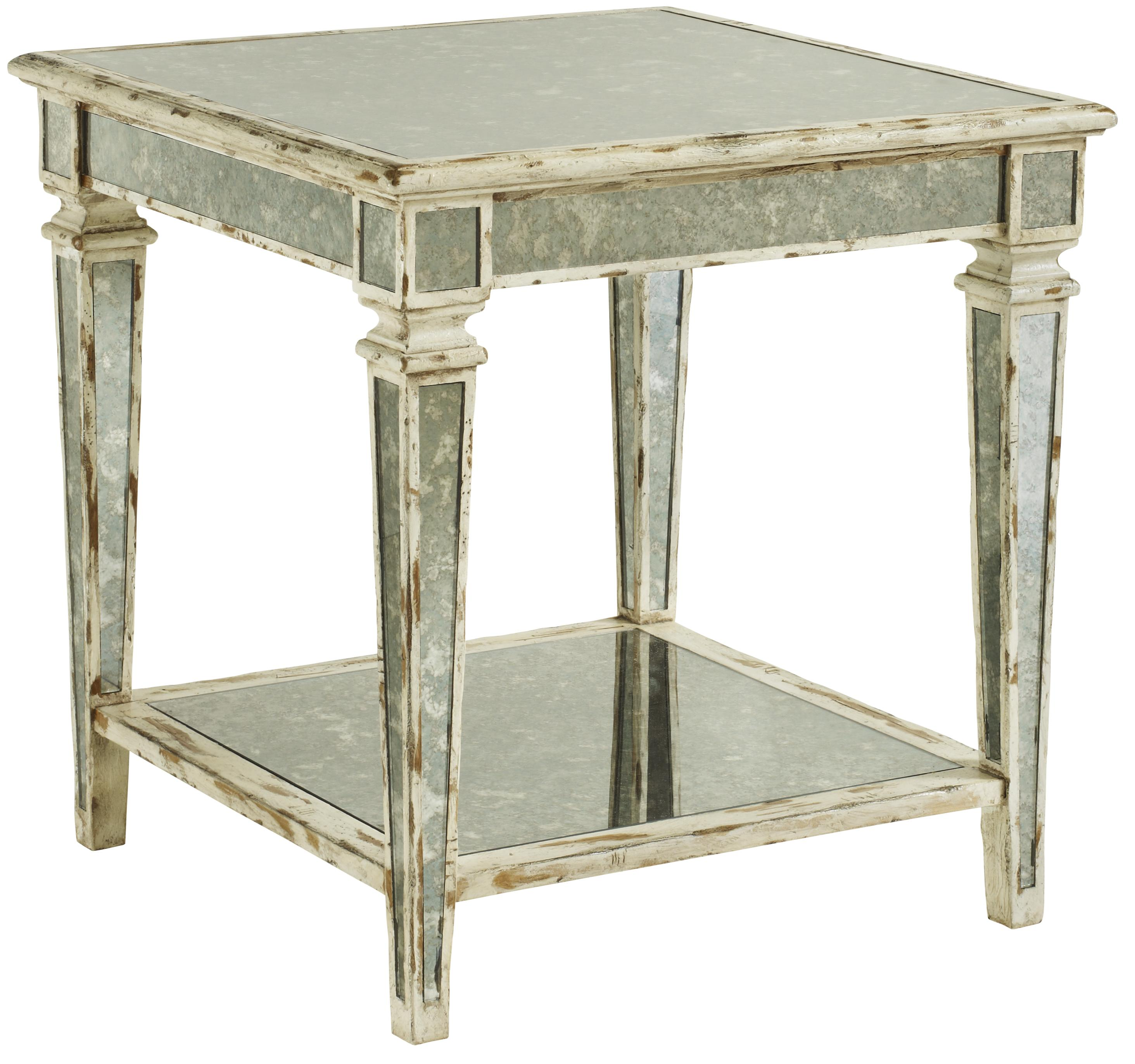 Antique Mirror End Tables Reversadermcreamcom