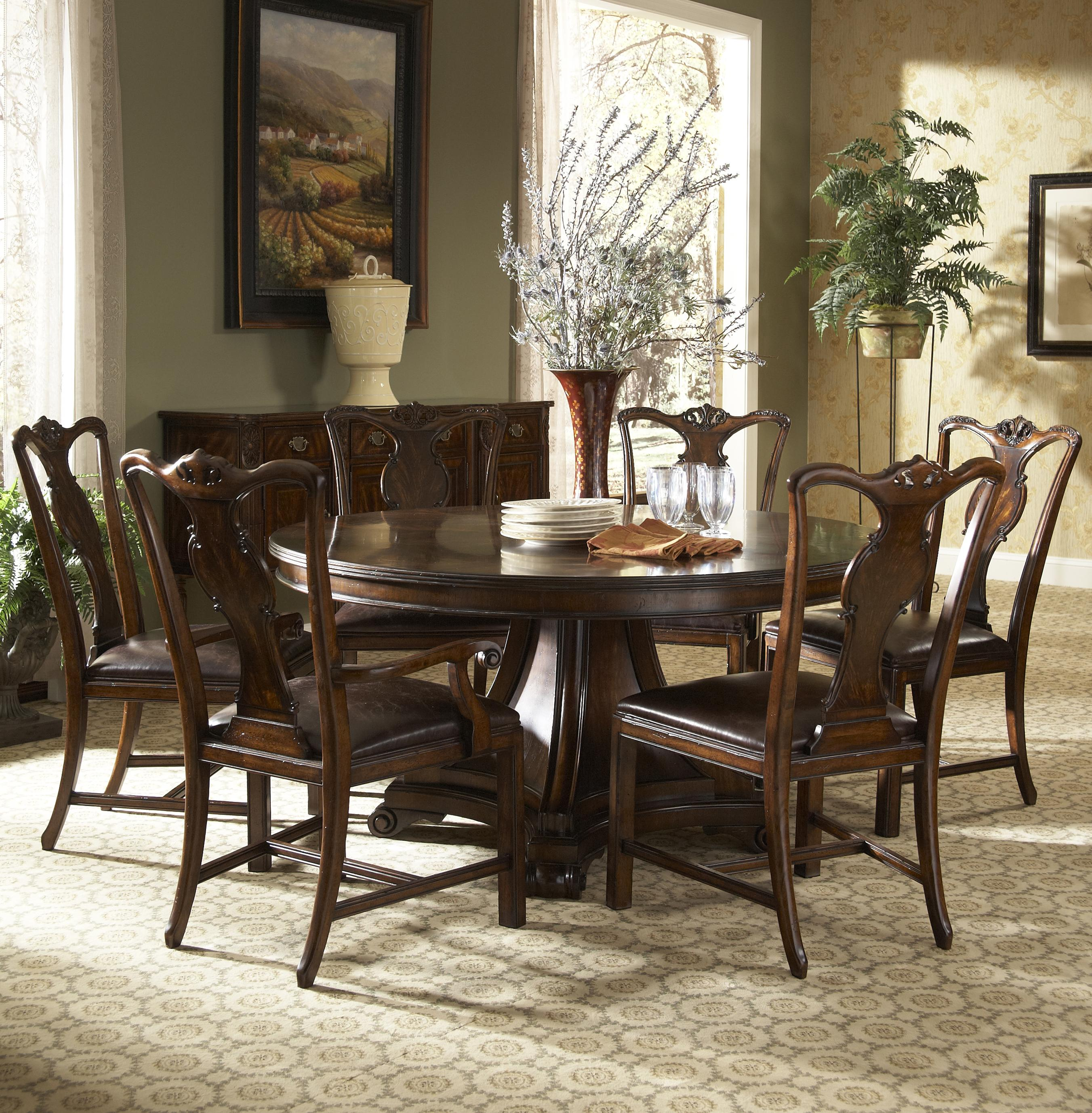 7 piece dining table and chairs set