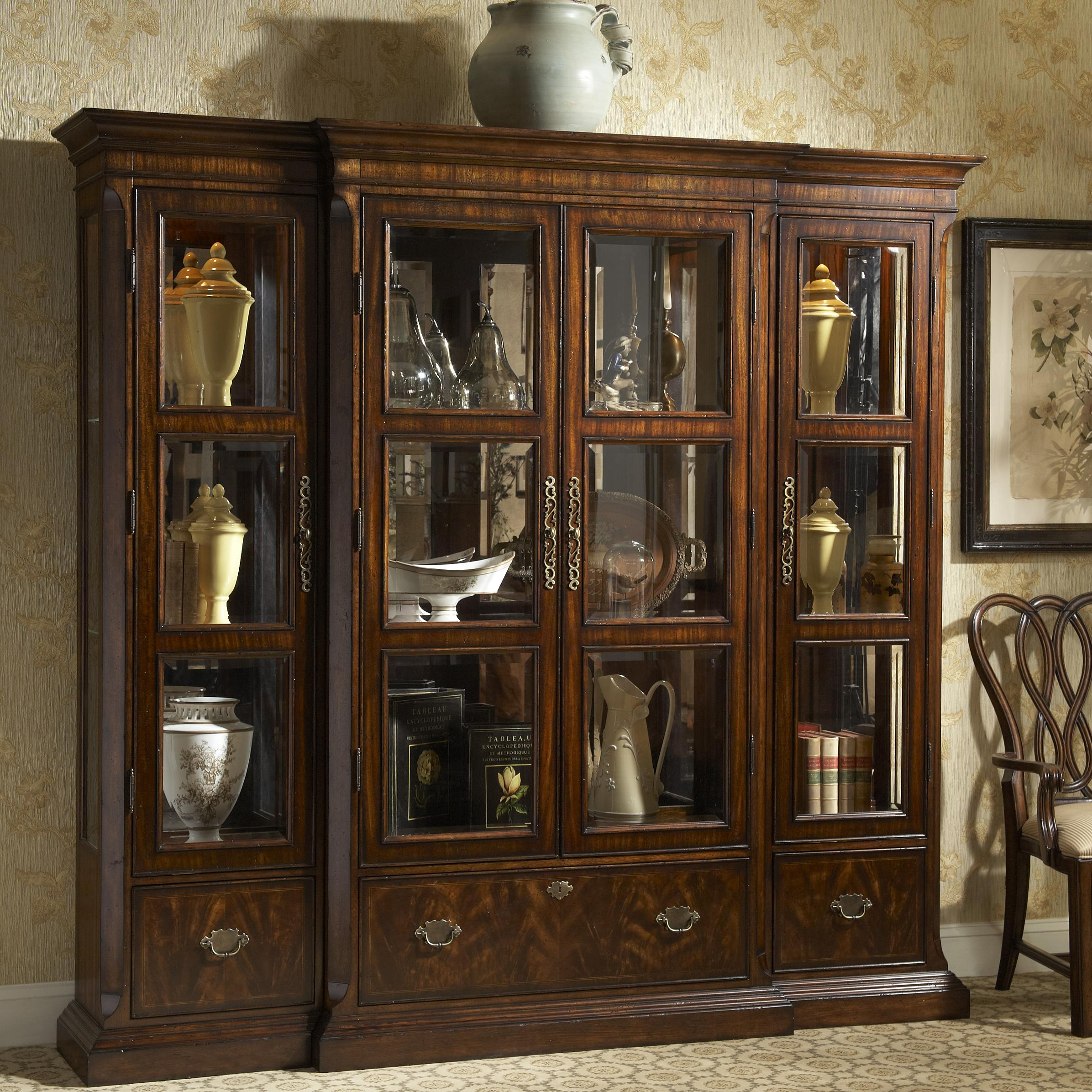 Traditional Curio China Cabinet by Fine Furniture Design | Wolf ...