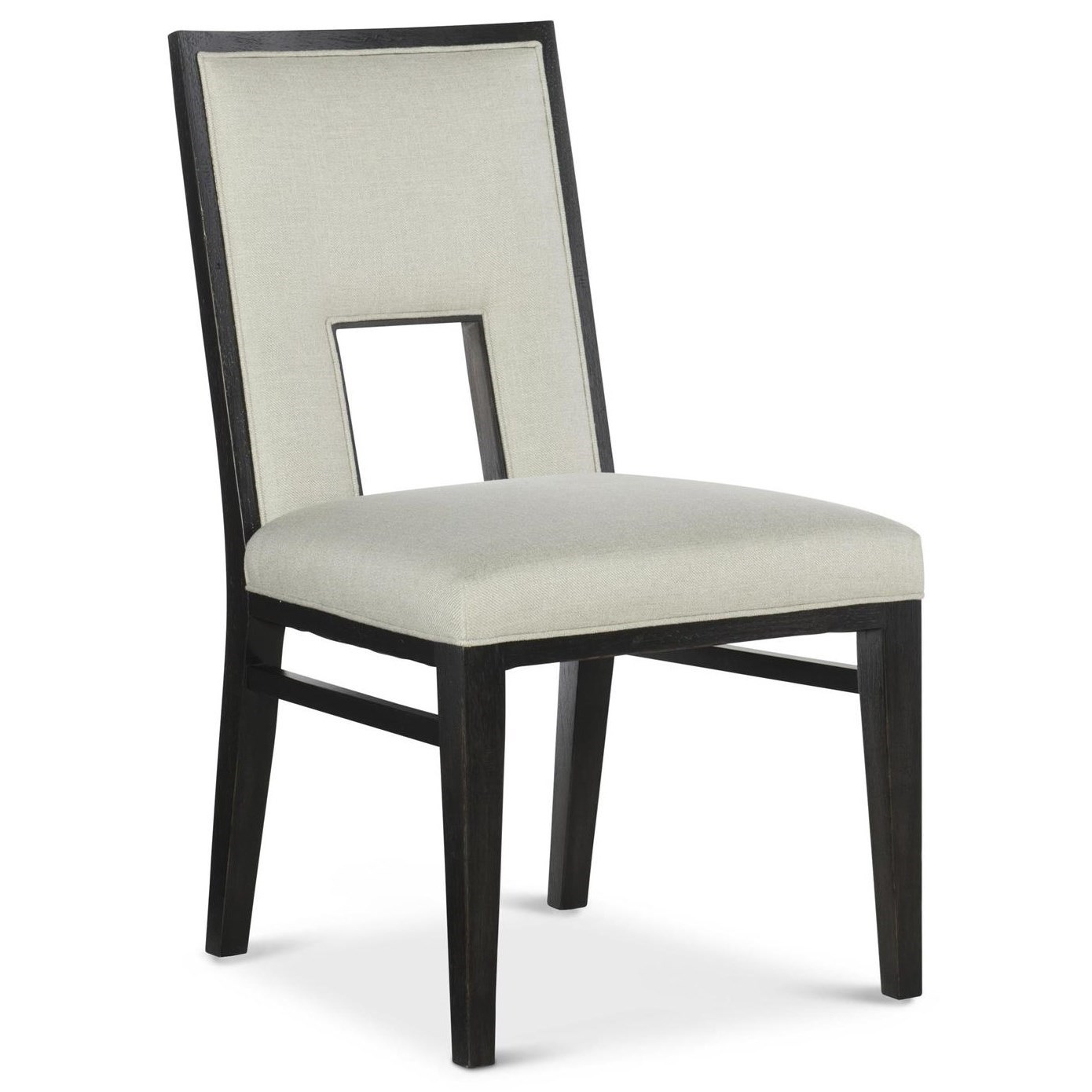 By Fine Furniture Design. Contemporary Dining Side Chair With Cut Out Back