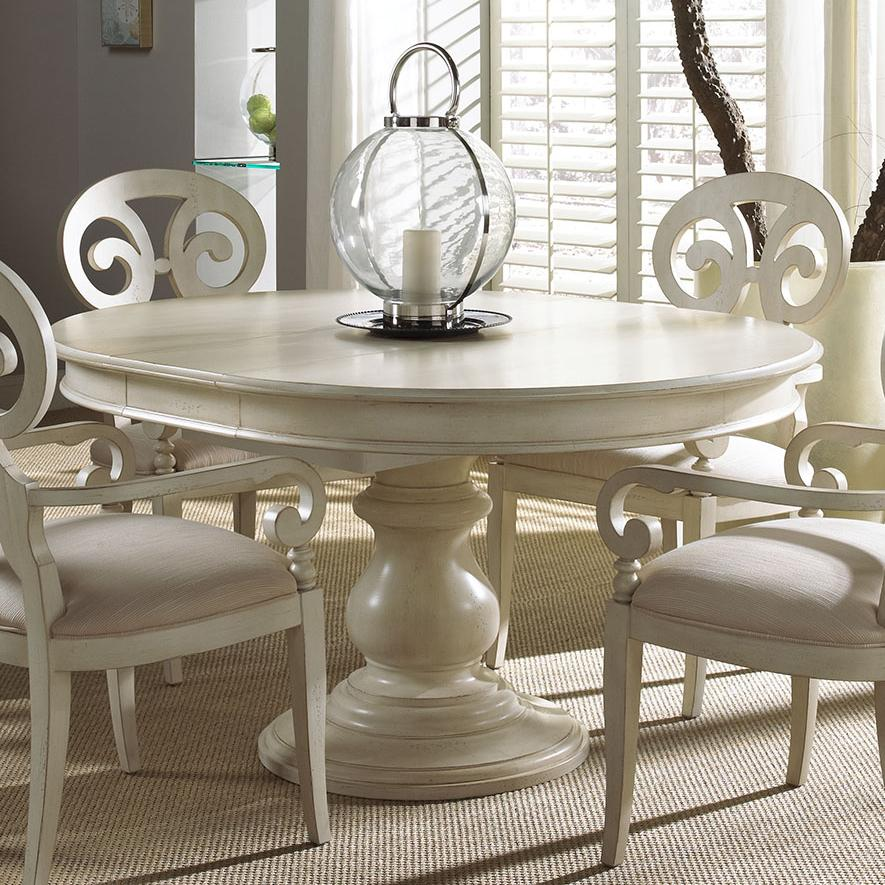Elegant Dining Table: Elegant Round Dining Table By Fine Furniture Design