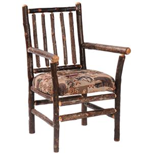 Spoke Back Arm Chair