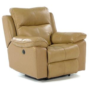 Flexsteel Butterscotch Power Recliner