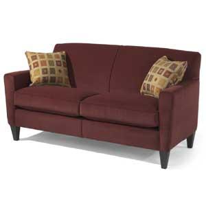 """Flexsteel Digby 70"""" Sofa w/ Two Cushions"""
