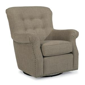 Flexsteel Accents Hopkins Swivel Chair