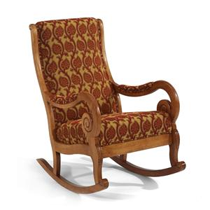 Flexsteel Accents Naples Upholstered Rocker
