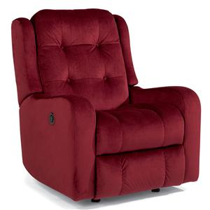 Flexsteel Accents Loudon Power Rocking Recliner
