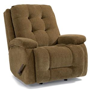 Flexsteel Accents Paxton Swivel Glider Recliner