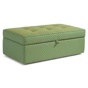 Flexsteel Accents Rectangular Storage Ottoman
