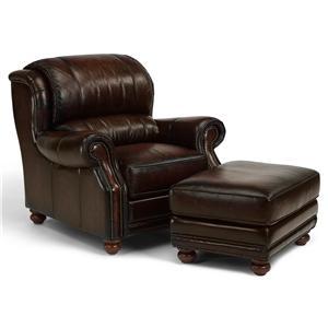 Flexsteel Latitudes - Dickenson Chair and Ottoman