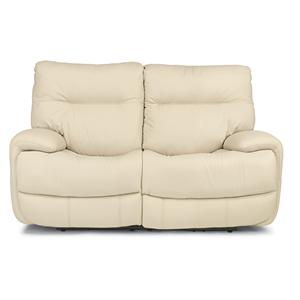 Flexsteel Latitudes - Evian Power Reclining Love Seat