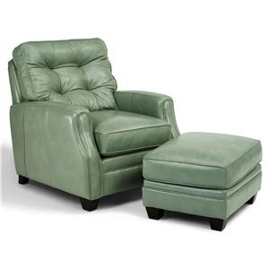 Flexsteel Latitudes - Flamenco Chair and Ottoman
