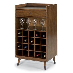 Flexsteel Gemini Wine Server