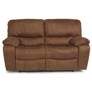 Flexsteel Latitudes - Grandview Power Reclining Love Seat