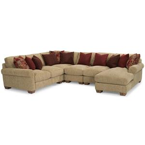 Flexsteel Joshua Sectional Sofa