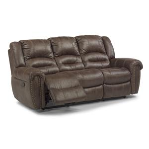 Flexsteel Latitudes - Downtown Double Reclining Sofa