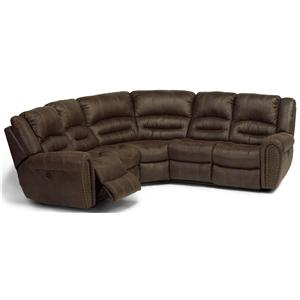 Flexsteel Latitudes - Downtown 3 pc. Reclining Sectional