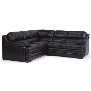 Flexsteel Latitudes - Dylan Sectional with Armless Chair