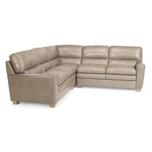 Flexsteel Latitudes-Ivy 3 Pc Sectional Sofa